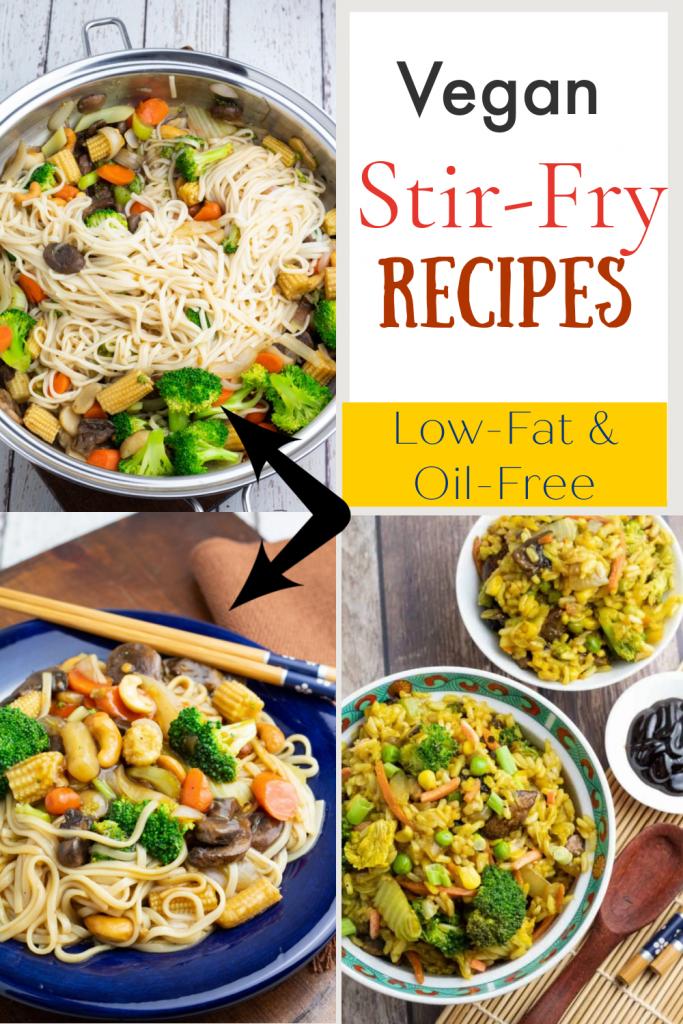 vegetable Stir Fry Recipes photo collage