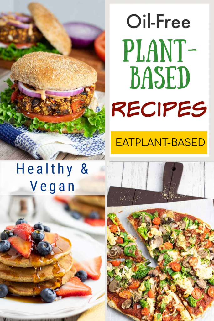EatPlantBased Recipe index photo collage for pinterest