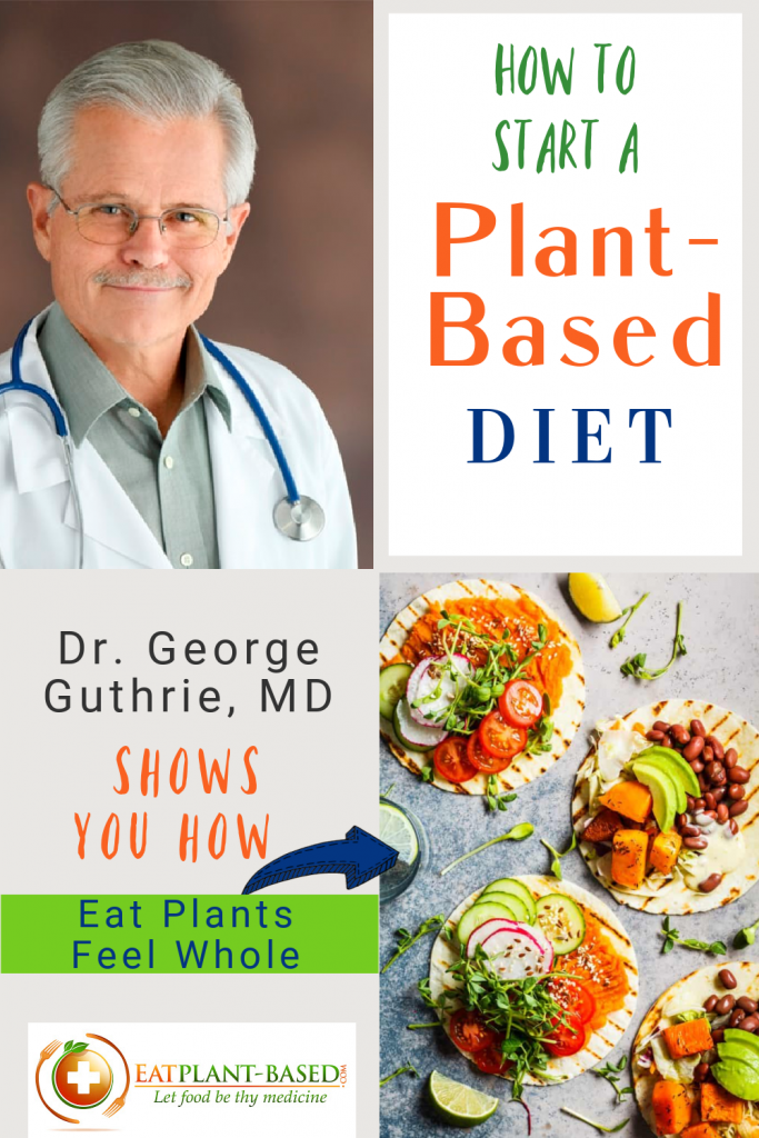 photo collage for how to change to a plant based diet