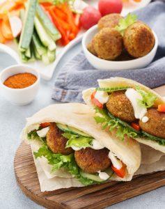 Vegan Falafel Chickpea Patties